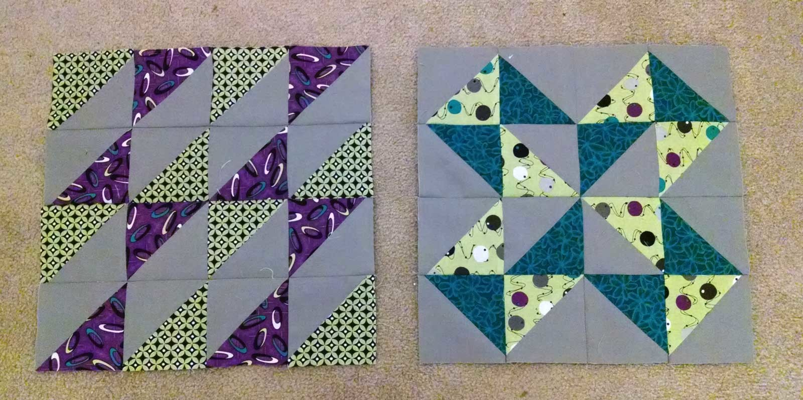 Layer Cake Sampler QAL - Blocks 19 & 20